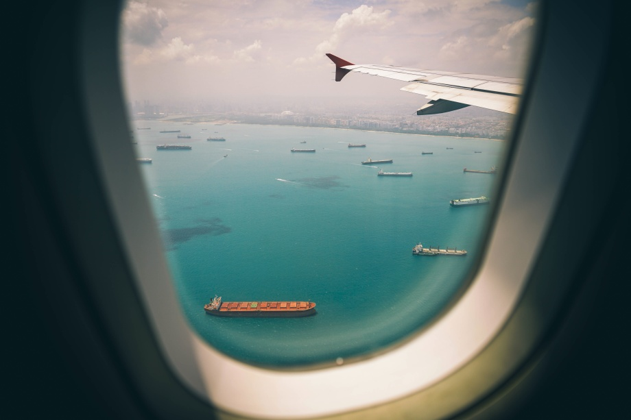 Flight to caribbean